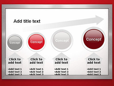 Silver-Chrome Frame PowerPoint Template Slide 13