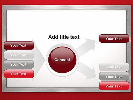 Silver-Chrome Frame PowerPoint Template Slide 14