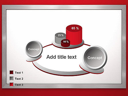 Silver-Chrome Frame PowerPoint Template Slide 16