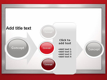 Silver-Chrome Frame PowerPoint Template Slide 17