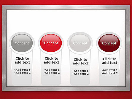 Silver-Chrome Frame PowerPoint Template Slide 5