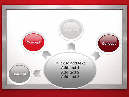 Silver-Chrome Frame PowerPoint Template Slide 7