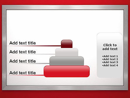 Silver-Chrome Frame PowerPoint Template Slide 8
