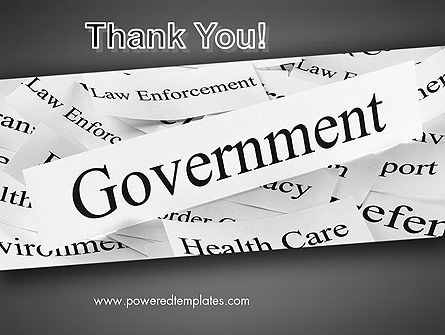 Government PowerPoint Template Slide 20