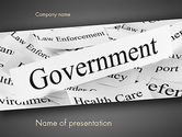 General: Regering PowerPoint Template #11529