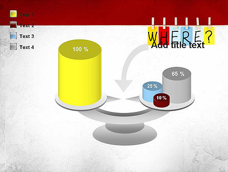 Where Question PowerPoint Template Slide 10
