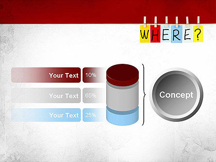 Where Question PowerPoint Template Slide 11