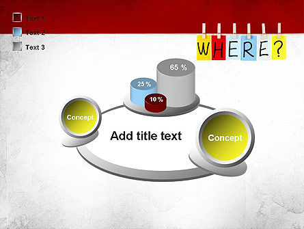 Where Question PowerPoint Template Slide 16