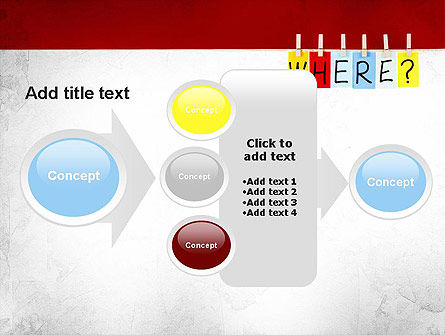 Where Question PowerPoint Template Slide 17