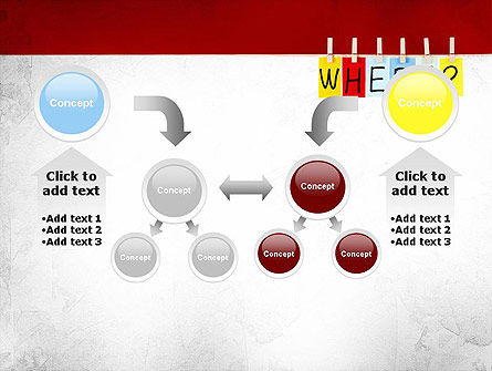 Where Question PowerPoint Template Slide 19