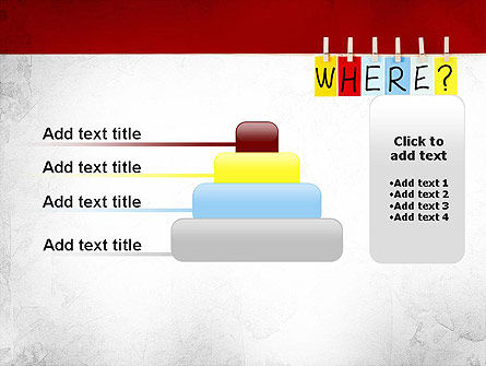 Where Question PowerPoint Template Slide 8