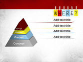 Where Question PowerPoint Template#12