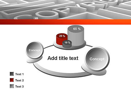 Intellectual Property Maze PowerPoint Template Slide 16
