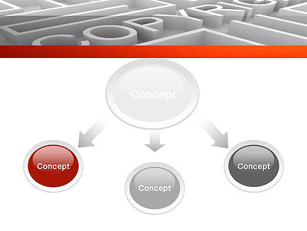 Intellectual Property Maze PowerPoint Template, Slide 4, 11532, Legal — PoweredTemplate.com