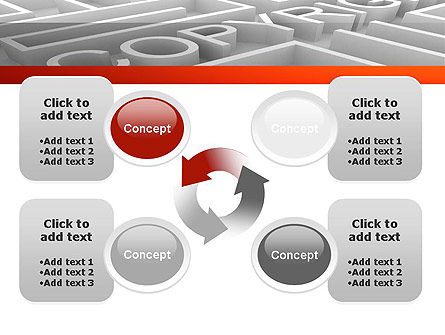 Intellectual Property Maze PowerPoint Template Slide 9