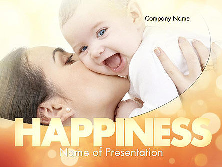 People: Happy Maternity PowerPoint Template #11535