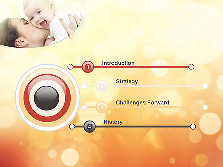 Happy Maternity PowerPoint Template, Slide 3, 11535, People — PoweredTemplate.com