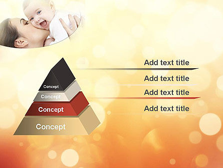 Happy Maternity PowerPoint Template, Slide 4, 11535, People — PoweredTemplate.com