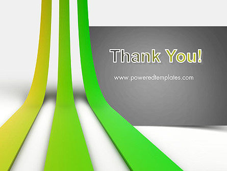 Growing Lines PowerPoint Template Slide 20