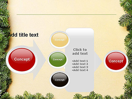 Christmas Frame PowerPoint Template Slide 17