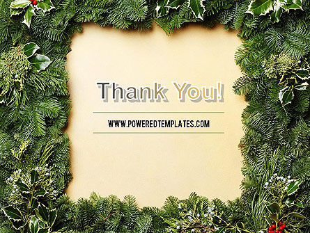 Christmas Frame PowerPoint Template Slide 20