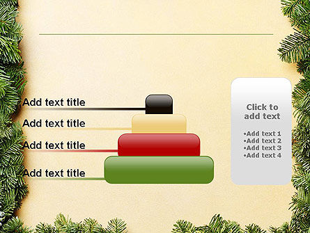 Christmas Frame PowerPoint Template Slide 8