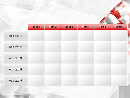 Red and White Pills PowerPoint Template Slide 15