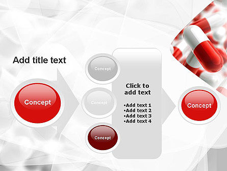 Red and White Pills PowerPoint Template Slide 17