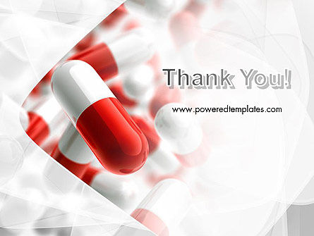 Red and White Pills PowerPoint Template Slide 20