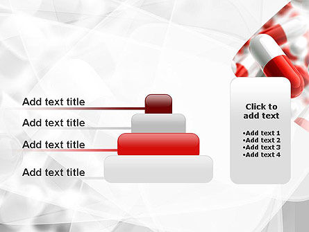 Red and White Pills PowerPoint Template Slide 8