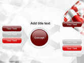 Red and White Pills PowerPoint Template#14