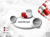Red and White Pills PowerPoint Template#16