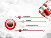Red and White Pills PowerPoint Template#3