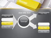 Success Computer Button PowerPoint Template#15