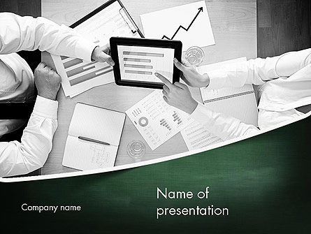 Market Research Analyst PowerPoint Template