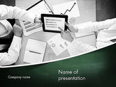 Market Research Analyst PowerPoint Template#1