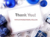 Christmas Greeting Card PowerPoint Template#20