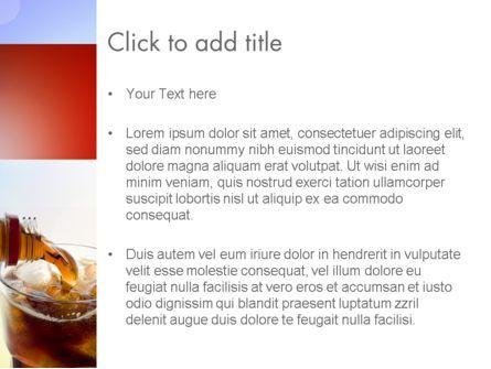 Cola Drinks PowerPoint Template, Slide 3, 11545, Food & Beverage — PoweredTemplate.com