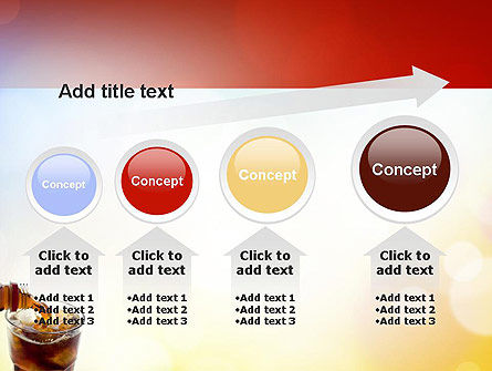 Cola Drinks PowerPoint Template Slide 13