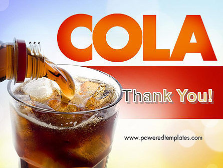 Cola Drinks PowerPoint Template Slide 20