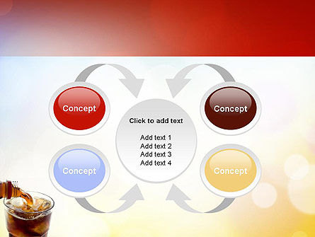 Cola Drinks PowerPoint Template Slide 6