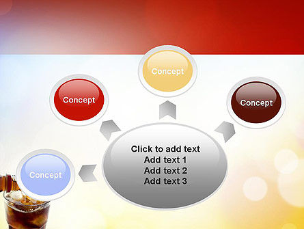 Cola Drinks PowerPoint Template Slide 7