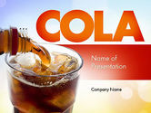 Food & Beverage: Cola Drinks PowerPoint Template #11545