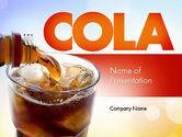 Food & Beverage: Modelo do PowerPoint - bebidas de cola #11545
