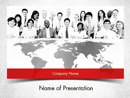 Company Overview PowerPoint Template, 11546, Business — PoweredTemplate.com