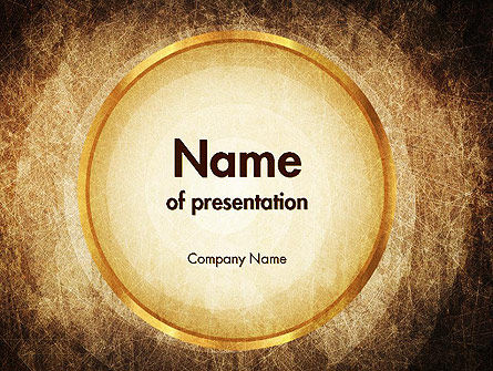 Brown Background PowerPoint Template