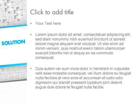 Puzzle Solution PowerPoint Template, Slide 3, 11548, Business Concepts — PoweredTemplate.com