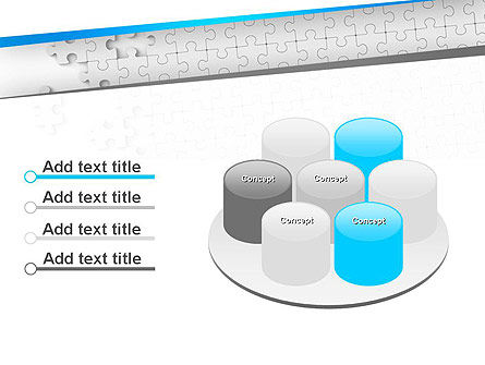 Puzzle Solution PowerPoint Template Slide 12