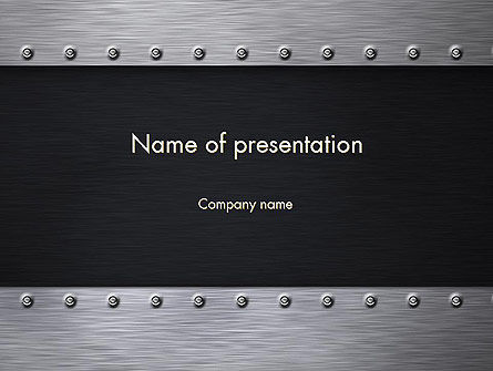 Metal Theme PowerPoint Template