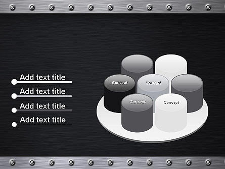 Metal Theme PowerPoint Template Slide 12